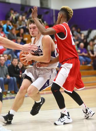 12-18-15<br /> Northwestern vs Maconaquah boys basketball<br /> Northwestern's Noah Dowden<br /> Kelly Lafferty Gerber | Kokomo Tribune