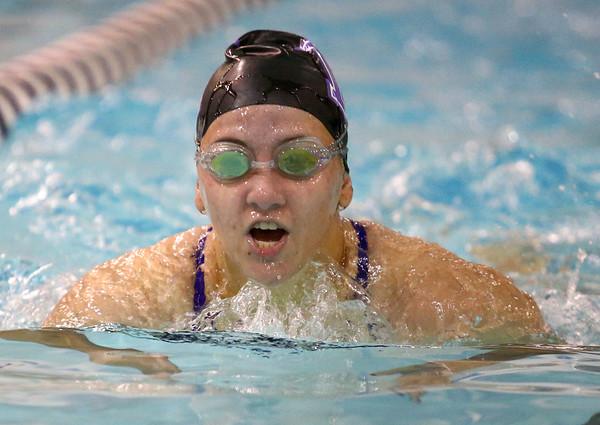 12-3-15<br /> Northwestern vs Logansport swim meet<br /> Northwestern's Grace Boruff in the Girls 200 IM<br /> Kelly Lafferty Gerber   Kokomo Tribune