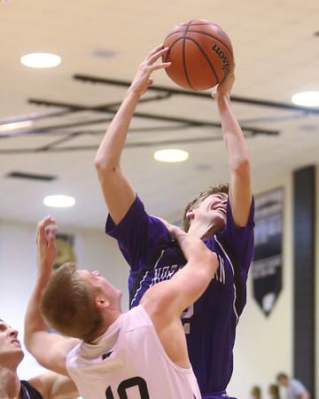 12-4-15<br /> Western vs Northwestern boys basketball<br /> Northwestern's Collin Hodson<br /> Kelly Lafferty Gerber   Kokomo Tribune