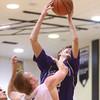 12-4-15<br /> Western vs Northwestern boys basketball<br /> Northwestern's Collin Hodson<br /> Kelly Lafferty Gerber | Kokomo Tribune