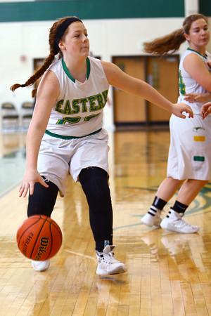 Girls basketball between Eastern HS and Maconaquah HS Dec., 5, 2015.<br /> Tim Bath   Kokomo Tribune