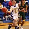 12-11-15<br /> Tri Central vs Eastern boys basketball<br /> Tri Central's Colby Malson looks for a pass.<br /> Kelly Lafferty Gerber | Kokomo Tribune