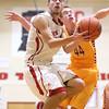 12-15-15<br /> Taylor vs Alexandria boys basketball<br /> Taylor's Darian Stone<br /> Kelly Lafferty Gerber | Kokomo Tribune