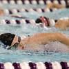 12-3-15<br /> Northwestern vs Logansport swim meet<br /> Northwestern's Katyleen Babcok in the Girls 100 Freestyle<br /> Kelly Lafferty Gerber | Kokomo Tribune