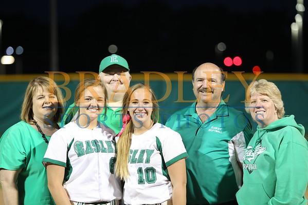 2015: Easley Senior Night