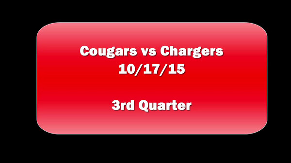 Cougars v Chargers Game 2