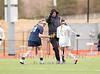 Girl's High School Varsity Lacrosse. Brighton Barons at Corning Hawks. April 11, 2015.