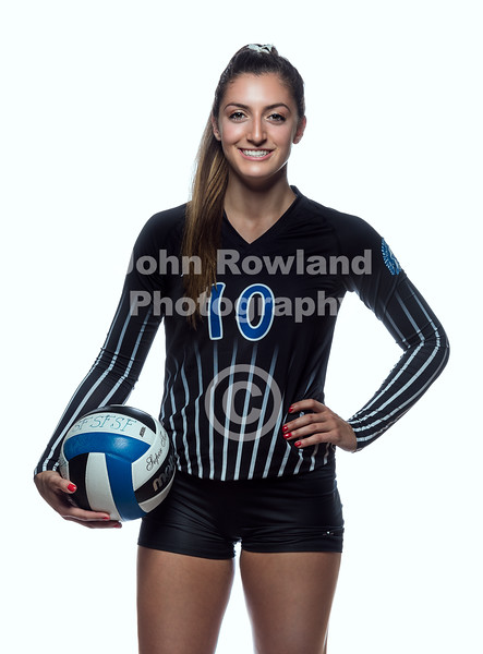 St. Francis Volleyball Portraits