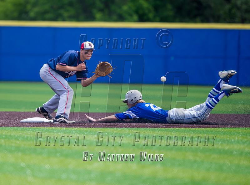 New York State High School Baseball Semifinals.  Byram Hills vs Division. June 13, 2015.