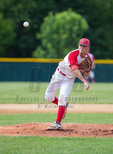 New York High School Baseball Class AA Semifinal. Mamaroneck vs Connetquot. June 13, 2015.