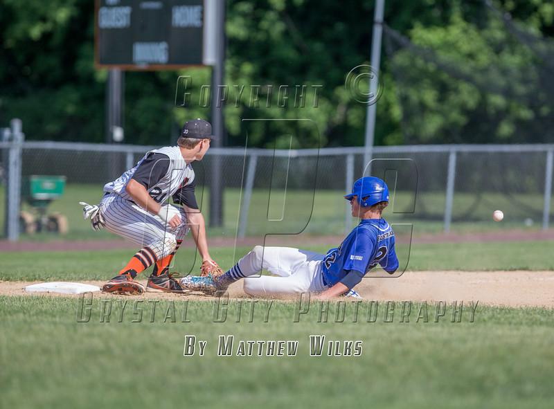 New York High School Baseball Semifinal.  Saratoga Springs vs Mamaroneck. June 13, 2015.
