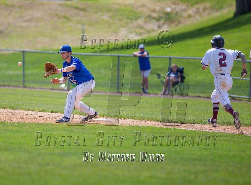 New York High School Baseball Semifinal. Saratoga Springs vs Orchard Park. June 13, 2015.