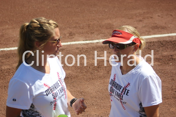 2015 IGHSAU Class 1A state softball — Marquette Catholic vs. AGWSR