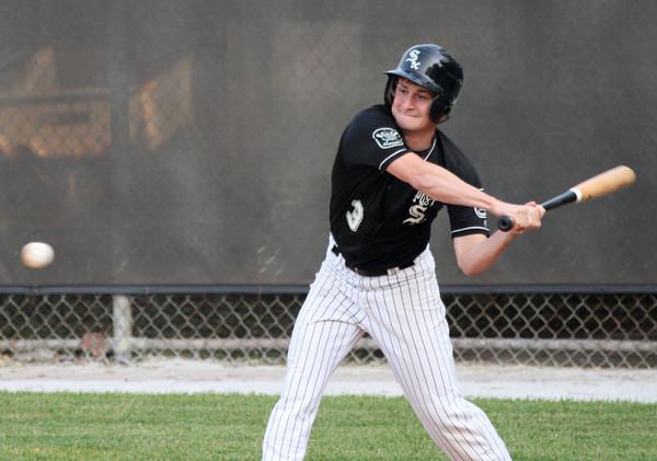 6-9-15<br /> Legion baseball Kokomo vs Plymouth<br /> Josh Jansen bats.<br /> Kelly Lafferty Gerber | Kokomo Tribune
