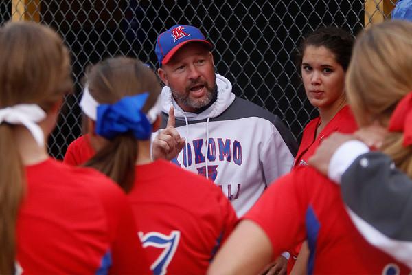 High School Softball Regional Kokomo vs. Noblesville
