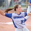 6-13-15<br /> Carroll County softball state championship vs Hauser<br /> Carroll's Carly Kingery pitches.<br /> Kelly Lafferty Gerber | Kokomo Tribune