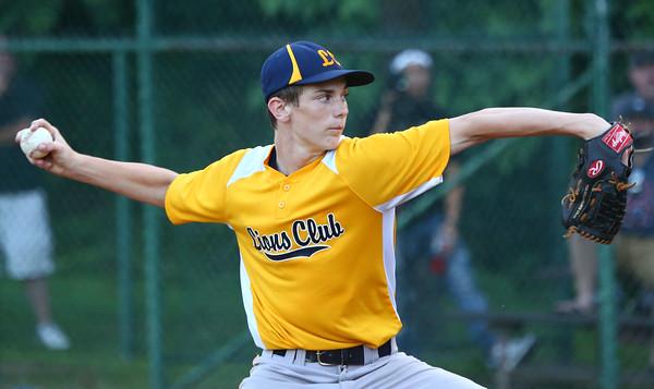 6-25-15<br /> Kasey Memorial Youth Baseball championship<br /> Lions Club Braeden Bryant pitches.<br /> Kelly Lafferty Gerber | Kokomo Tribune