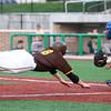 6-30-15<br /> Jackrabbits vs Quincy Gems<br /> CJ Price sails to home base scoring the 5th run for the Jackrabbits.<br /> Kelly Lafferty Gerber   Kokomo Tribune