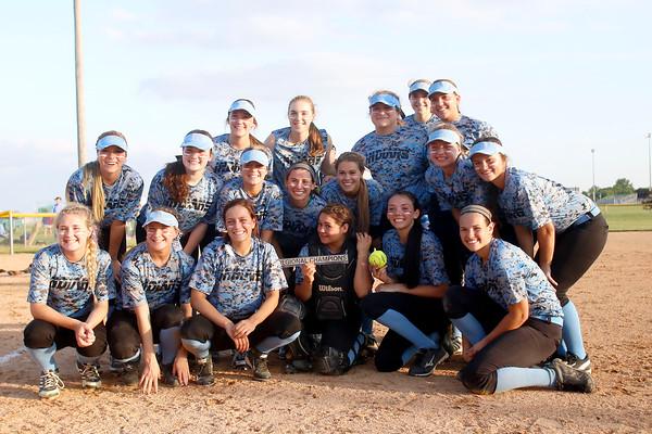 Girls Softball Regional Northwestern High School vs. Saint Joseph High School