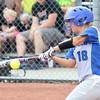 6-13-15<br /> Carroll County softball state championship vs Hauser<br /> Carroll's Hailey Atkisson bats.<br /> Kelly Lafferty Gerber | Kokomo Tribune