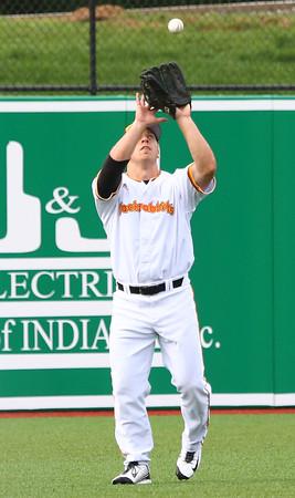 6-17-15<br /> Jackrabbits vs Rex<br /> Joe Hoscheit? makes the catch for an out.<br /> Kelly Lafferty Gerber   Kokomo Tribune
