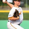 6-11-15<br /> Jackrabbits vs Sliders<br /> Ryan Fleming pitches.<br /> Kelly Lafferty Gerber | Kokomo Tribune