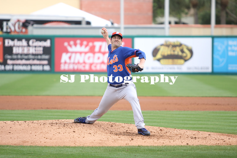 Matt Harvey of the New York Mets
