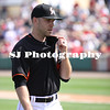 David Phelps of the Miami Marlins walking toward the dugout