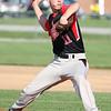 5-5-15<br /> Eastern vs Taylor baseball<br /> Taylor's Treavor Harris pitches.<br /> Kelly Lafferty Gerber   Kokomo Tribune
