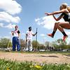 5-2-15<br /> Kokomo Relays<br /> Western's Madi Shepherd in the long jump.<br /> Kelly Lafferty Gerber | Kokomo Tribune