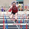 5-2-15<br /> Kokomo Relays<br /> Kokomo's Kirsten Frey in the hurdles.<br /> Kelly Lafferty Gerber   Kokomo Tribune