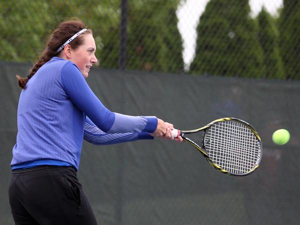 5-20-15<br /> Kokomo vs Western tennis<br /> Kokomo 1 singles Rachel Stout<br /> Kelly Lafferty Gerber | Kokomo Tribune