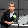 5-20-15<br /> Kokomo vs Western tennis<br /> Kokomo 3 singles Sunnih Flores<br /> Kelly Lafferty Gerber | Kokomo Tribune