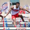 5-2-15<br /> Kokomo Relays<br /> Kokomo's Jordan Nix in the hurdles.<br /> Kelly Lafferty Gerber | Kokomo Tribune