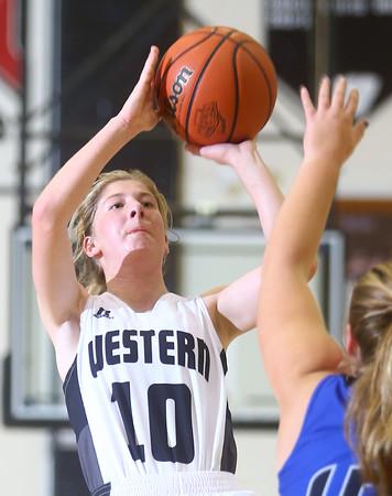9-10-15<br /> Western girls basketball<br /> Sarah Connolly<br /> Kelly Lafferty Gerber   Kokomo Tribune