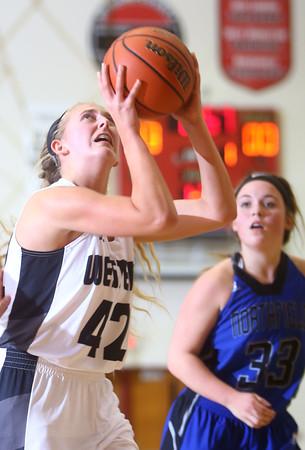 9-10-15<br /> Western girls basketball<br /> Tessa Sanders<br /> Kelly Lafferty Gerber | Kokomo Tribune