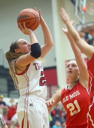 11-7-15<br /> Taylor girls basketball<br /> Brie Boehler<br /> Kelly Lafferty Gerber | Kokomo Tribune