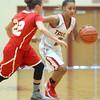 11-7-15<br /> Taylor girls basketball<br /> Taylor's Asia Stabler<br /> Kelly Lafferty Gerber | Kokomo Tribune