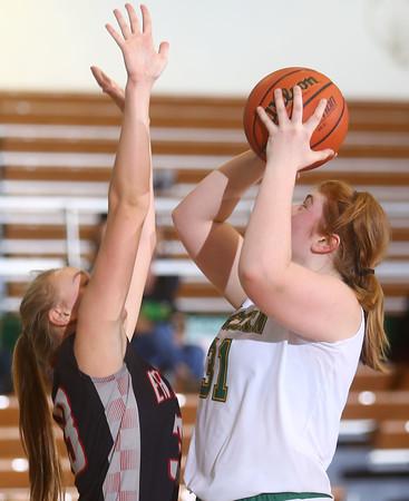 11-12-15<br /> Eastern girls basketball<br /> Hailey Holliday<br /> Kelly Lafferty Gerber | Kokomo Tribune