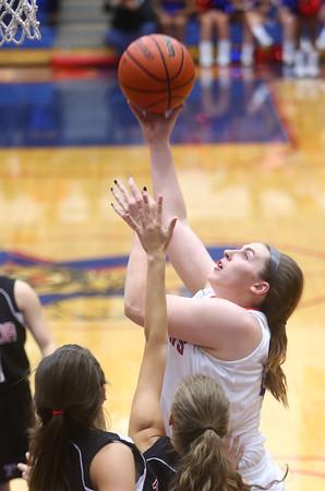 11-11-15<br /> Kokomo vs Taylor girls basketball<br /> Kokomo's Sieara Langley<br /> Kelly Lafferty Gerber | Kokomo Tribune