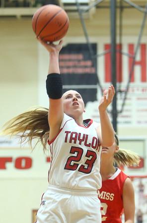 11-7-15<br /> Taylor girls basketball<br /> Brie Boehler<br /> Kelly Lafferty Gerber   Kokomo Tribune