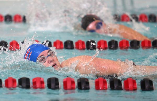 11-17-15<br /> WHS vs KHS swimming<br /> Kokomo's Jessica Estep in the 100 Yard Freestyle<br /> Kelly Lafferty Gerber   Kokomo Tribune