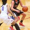 11-11-15<br /> Kokomo vs Taylor girls basketball<br /> Taylor's Cami Hansen<br /> Kelly Lafferty Gerber | Kokomo Tribune