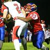 11-6-15<br /> Kokomo football sectional win<br /> Aion Jones takes down Huntington North's Alex McCutcheon.<br /> Kelly Lafferty Gerber | Kokomo Tribune
