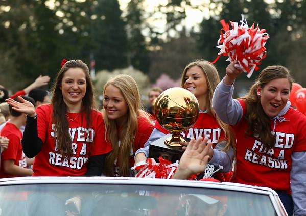 King's Basketball Champions Parade