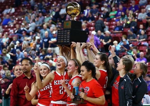 WIAA 2015 1A Girls Basketball State Champions