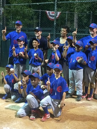 2015 ROOKIE A CHAMPION CUBS