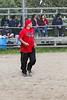 Slow pitch co-ed baseball in Moosonee.  Part II.