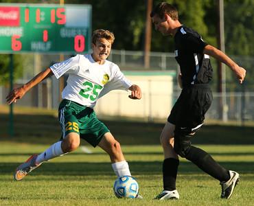 9-24-15 Eastern soccer Eastern's Joe Hawes Kelly Lafferty Gerber | Kokomo Tribune