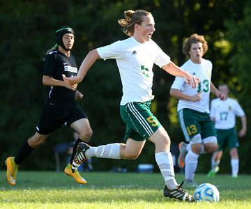 9-24-15 Eastern soccer Eastern's Ben Cole Kelly Lafferty Gerber | Kokomo Tribune